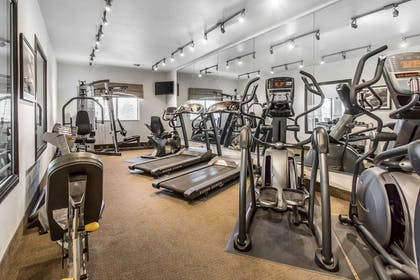 Exercise room with cardio equipment | Sleep Inn And Suites Lubbock