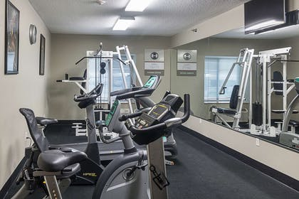 Fitness center   Quality Inn & Suites West Chase