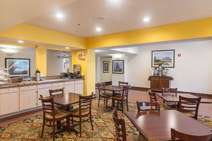 Breakfast area   Quality Inn & Suites West Chase