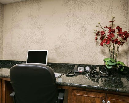 Business center with free wireless Internet access | Sleep Inn & Suites Highway 290/NW Freeway