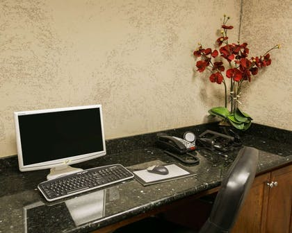 Business center with high-speed Internet access | Sleep Inn & Suites Highway 290/NW Freeway