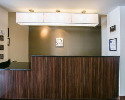Front desk | Sleep Inn & Suites Austin Northeast
