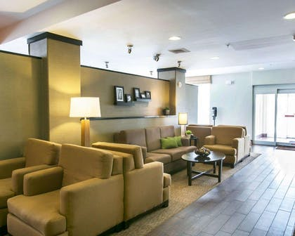 Spacious lobby | Sleep Inn & Suites Austin Northeast