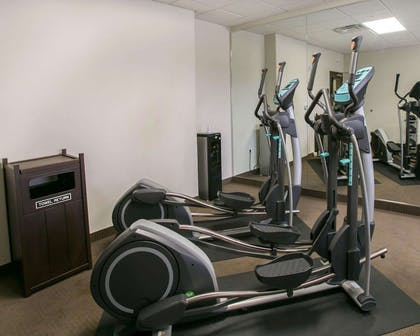 Fitness center with cardio equipment | Sleep Inn & Suites Austin Northeast