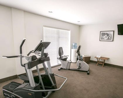 Fitness center with television | Sleep Inn & Suites Austin North I-35