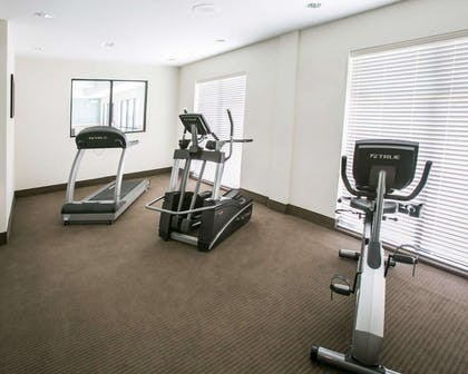 Fitness center with cardio equipment | Sleep Inn & Suites Austin North I-35