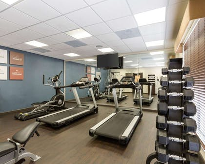 Fitness center with cardio equipment | Comfort Suites near Westchase on Beltway 8