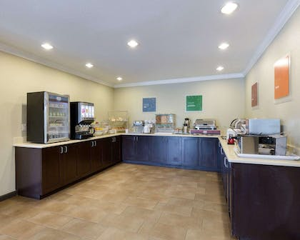 Assorted breakfast items | Comfort Suites near Westchase on Beltway 8