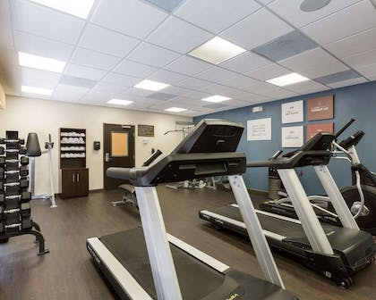 Fitness center with television | Comfort Suites near Westchase on Beltway 8