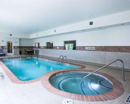 Relax in the hot tub | Sleep Inn & Suites Round Rock - Austin North