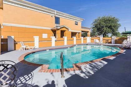 Relax by the pool | Quality Inn & Suites - Granbury