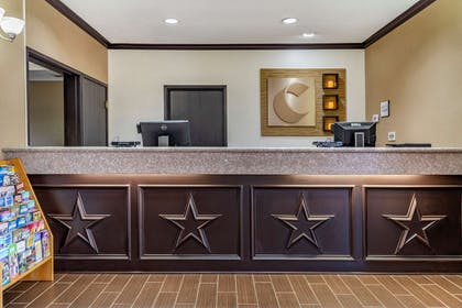 Front desk with friendly staff | Comfort Inn & Suites Texas Hill Country