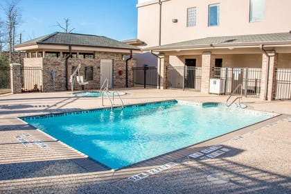 Outdoor pool   Sleep Inn And Suites Center
