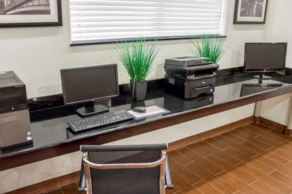 Business center with free wireless Internet access   Sleep Inn And Suites Center