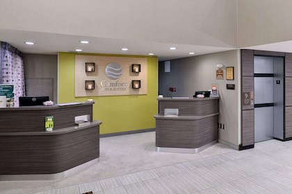 Front desk with friendly staff   Comfort Inn & Suites Frisco - Plano