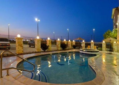 Pool during the evening | Comfort Inn And Suites Alvarado