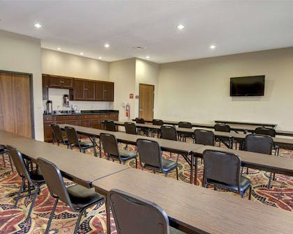 Meeting room with classroom-style setup | Comfort Inn And Suites Alvarado
