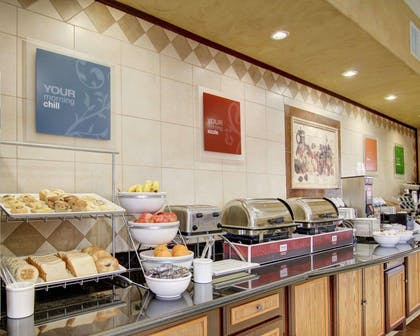 Assorted breakfast items | Comfort Inn And Suites Alvarado