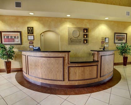 Front desk | Comfort Inn And Suites Alvarado