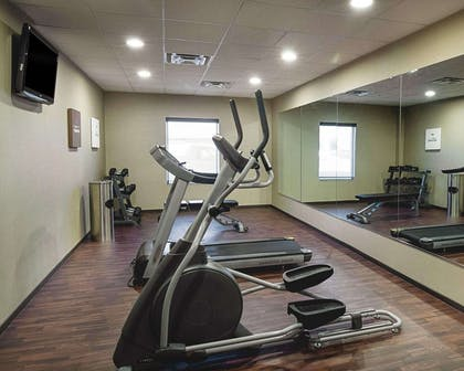 Fitness center with cardio equipment | Comfort Inn