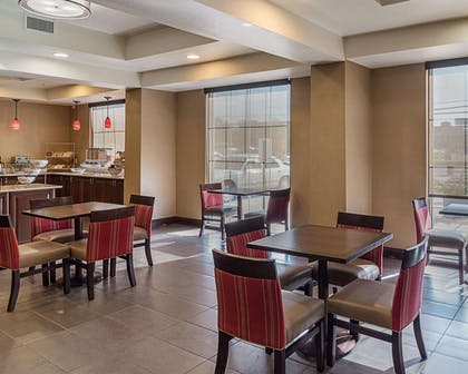 Breakfast area in the lobby | Comfort Inn
