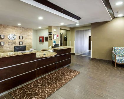 Hotel lobby | Comfort Suites Cotulla near I-35
