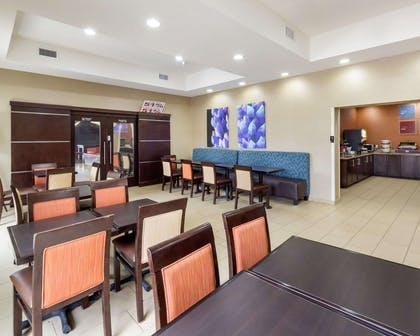 Breakfast area in the lobby | Comfort Suites Cotulla near I-35
