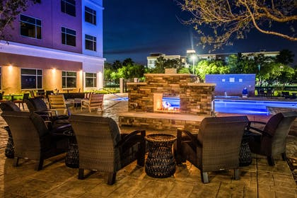 Relax on the patio | Cambria Hotel McAllen Convention Center
