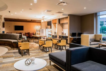 Relax in the dining area | Cambria Hotel McAllen Convention Center