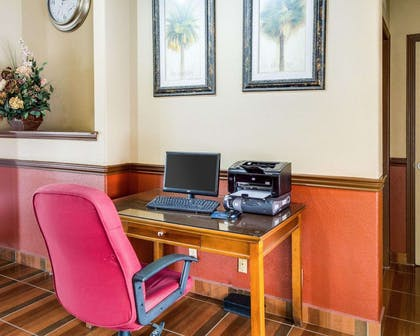 Business center with high-speed Internet access | Econo Lodge Inn & Suites Eagle Pass
