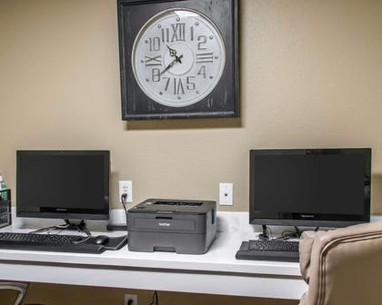 Business center with high-speed Internet access | Mainstay Suites