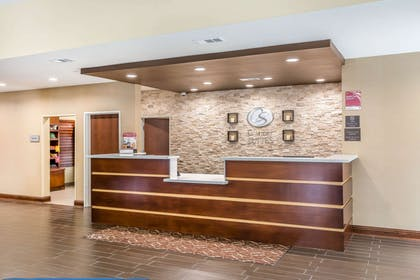 Front desk | Comfort Suites Houston I-45 North