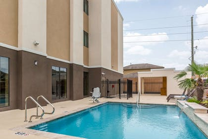 Relax by the pool | Comfort Suites Houston I-45 North
