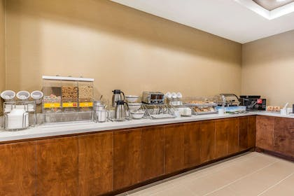 Assorted breakfast items | Comfort Suites Houston I-45 North