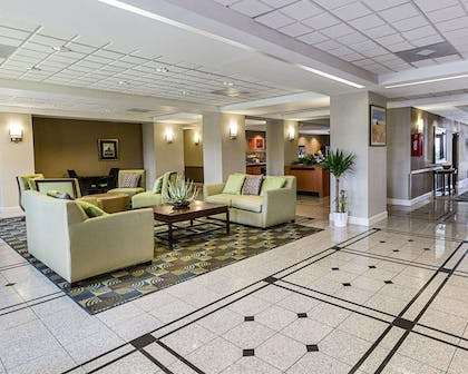 Spacious lobby with sitting area | Comfort Inn & Suites Southwest Fwy at Westpark
