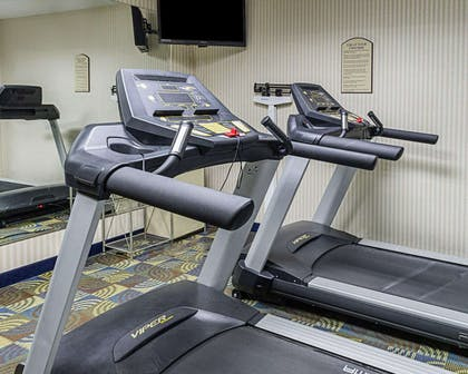 Fitness center with television | Comfort Inn & Suites Southwest Fwy at Westpark