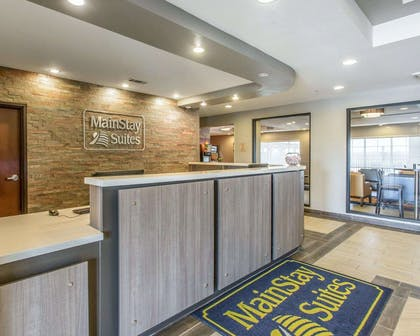 Hotel lobby | Mainstay Suites