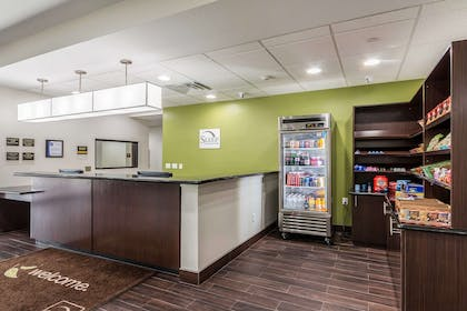 Front desk | Sleep Inn and Suites
