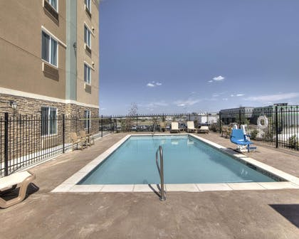Outdoor pool | Comfort Inn & Suites Fort Worth West