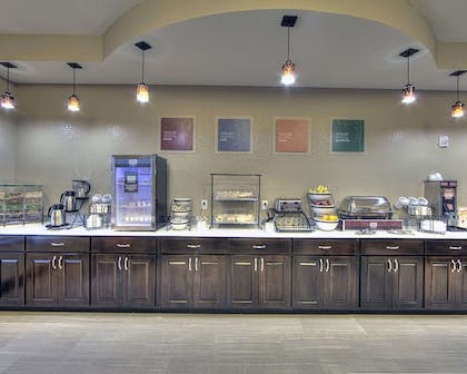 Breakfast counter | Comfort Inn & Suites Fort Worth West