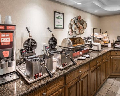 Free breakfast with waffles | Comfort Inn & Suites Beaver - Interstate 15 North