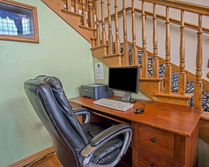 Business center with high-speed Internet access | Quality Inn & Suites Airport West