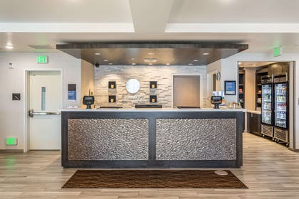 Front desk with friendly staff | Comfort Inn & Suites Salt Lake City Airport