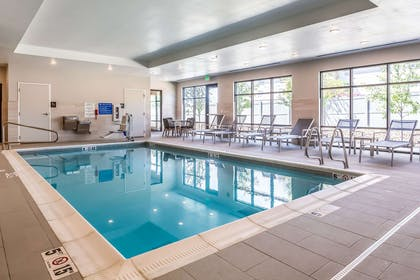 Indoor heated pool | Comfort Inn & Suites Salt Lake City Airport