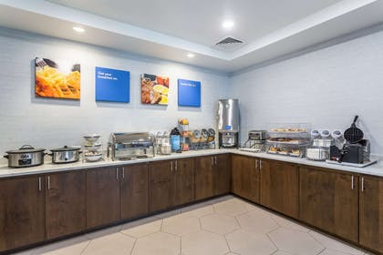 Free breakfast with waffles | Comfort Inn & Suites Salt Lake City Airport