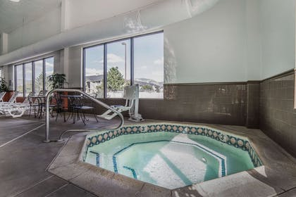 Relax in the hot tub | Comfort Suites Ogden Conference Center