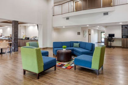 Lobby with sitting area | Comfort Suites South Park