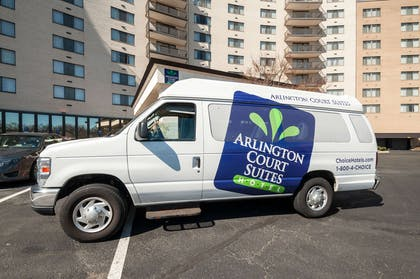 Hotel shuttle available   Arlington Court Suites, a Clarion Collection Hotel