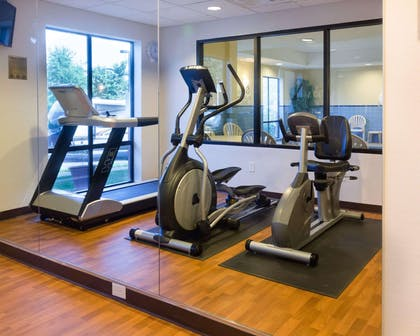 Fitness center | Comfort Suites Fredericksburg North