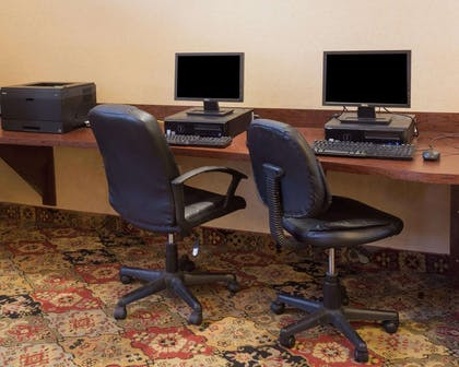 Business center with free wireless Internet access | Comfort Suites Fredericksburg North